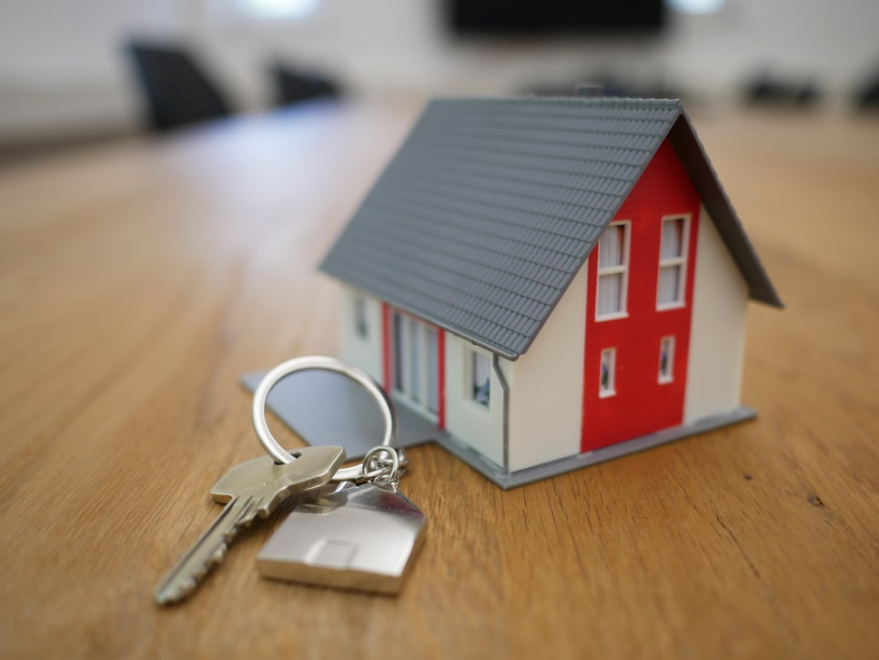 key and small house
