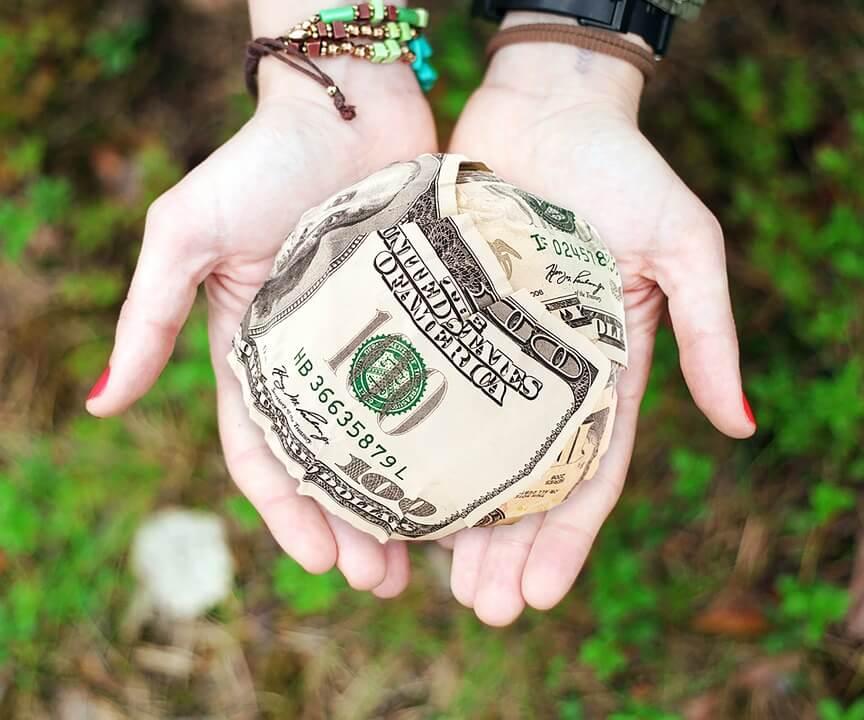 money$100 USD bill
